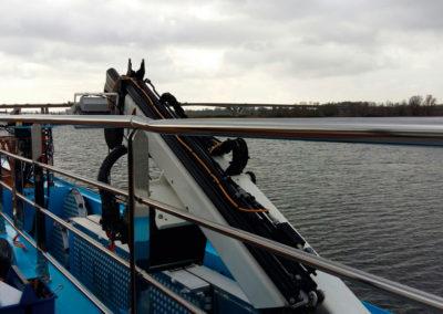 Reparatie RVS railing - Scheeps reparatie en onderhoud - Lasbedrijf De Wildt - Wijchen Nijmegen