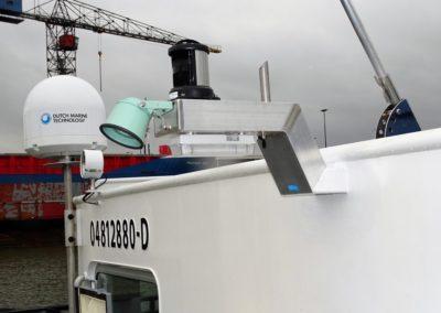 Aliminium herlichtbeugel - Scheeps modernisering - Lasbedrijf De Wildt - Wijchen Nijmegen