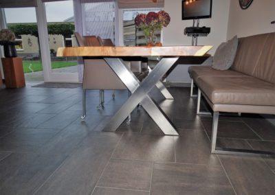 RVS tafelonderstel - Interieur - Lasbedrijf De Wildt - Wijchen Nijmegen