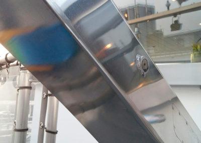Reparatie aluminium radarmast - Scheeps reparatie en onderhoud - Lasbedrijf De Wildt - Wijchen Nijmegen